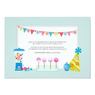 Kindergeburtstag-Party Einladungen