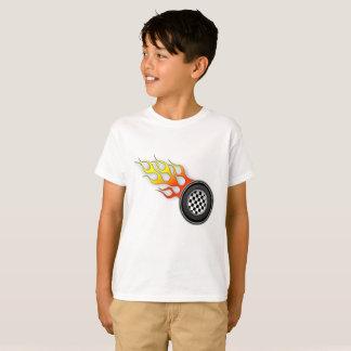 Kinderheißes Rad-T-Stück T-Shirt