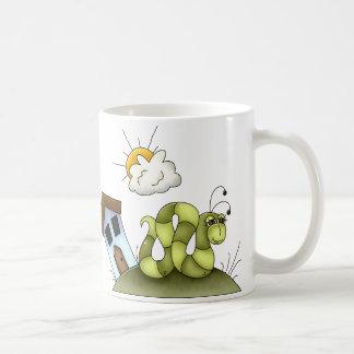 Kinderinchworm-Haus Kaffeetasse