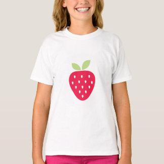 Kinderniedliches Erdbeervalentine-Shirt T-Shirt