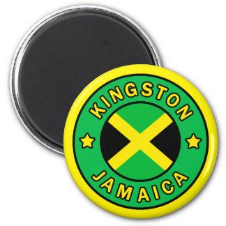 Kingston Jamaika Runder Magnet 5,7 Cm