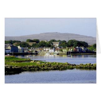 Kinvara, Irland Grußkarte