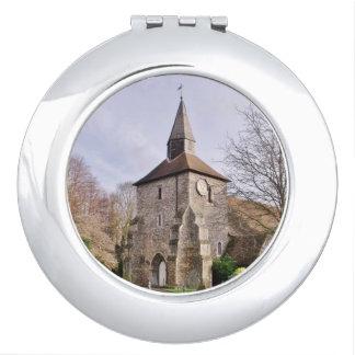 Kirche St. Stephens im Januar Taschenspiegel
