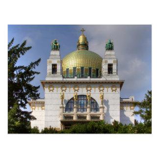 Kirche von St. Leopold Wien Österreich Postkarten