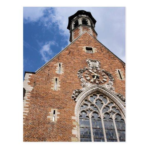 Kirche von St Mary Magdalene - Brüssel, Belgien Postkarte