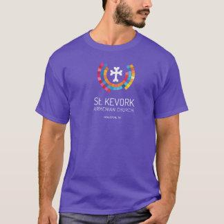 Kirchen-Erwachsen-T - Shirt St. Kevork armenischer