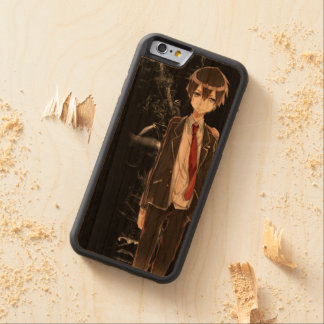 Kirito Dark Woodcase Bumper iPhone 6 Hülle Kirsche