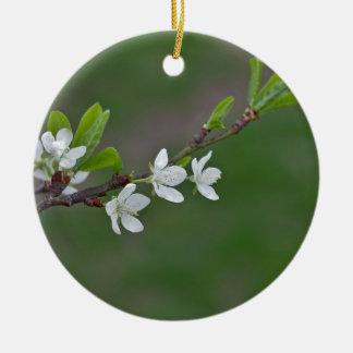 Kirschbaum-Blumen Keramik Ornament