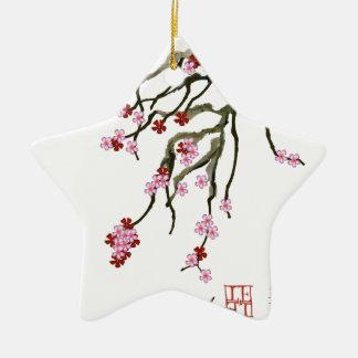 Kirschblüte 12 Tony Fernandes Keramik Ornament