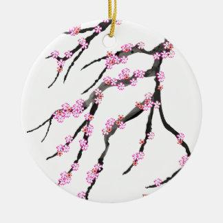 Kirschblüte 30, Tony Fernandes Keramik Ornament