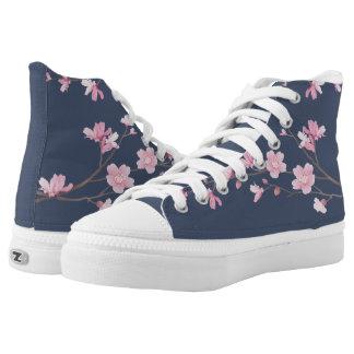 Kirschblüte - Gerbsäure Hoch-geschnittene Sneaker