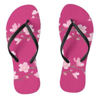 Kirschblüte - Magenta Flip Flops