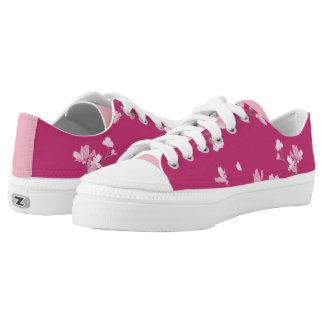 Kirschblüte - Magenta Niedrig-geschnittene Sneaker
