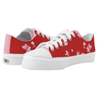 Kirschblüte - Rot Niedrig-geschnittene Sneaker