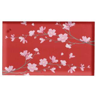 Kirschblüte - Rot Tischnummernhalter