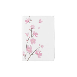 Kirschblüte - transparenter Hintergrund Passhülle