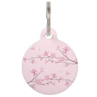 Kirschblüte - transparenter Hintergrund Tiernamensmarke