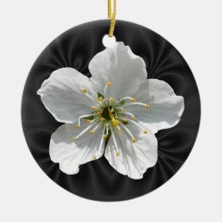 Kirschblüte ~ Verzierung Rundes Keramik Ornament