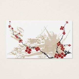 Kirschblüte-Visitenkarte Visitenkarten