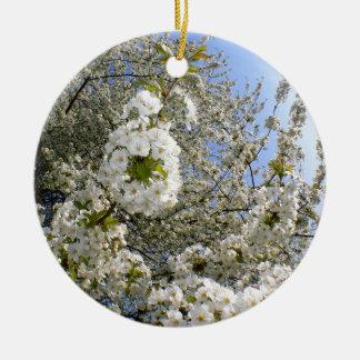 Kirschblüten, Frühling Keramik Ornament