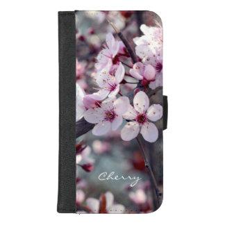 Kirschblüten-Kirschblüte-Natur-mit iPhone 8/7 Plus Geldbeutel-Hülle