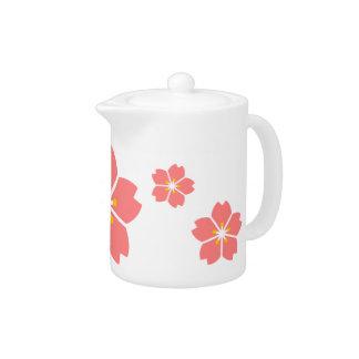 Kirschblüten-Teekanne