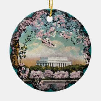 Kirschblüten-Verzierung Keramik Ornament