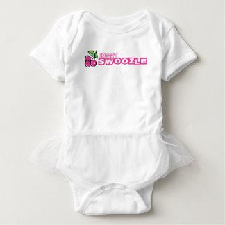 KirscheSwoozle Baby-Ballettröckchen-Bodysuit Baby Strampler
