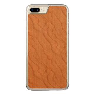 Kirschhölzerner Blick Fein Carved iPhone 8 Plus/7 Plus Hülle