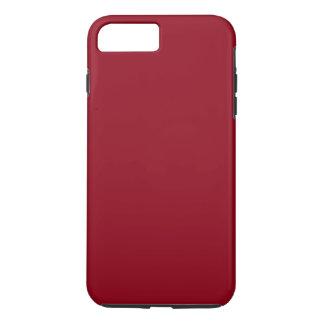 KIRSCHrot (eine feste fruchtige Farbe) ~~ iPhone 7 Plus Hülle