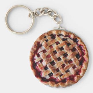 Kirschtorten-Nahrungsmittelschlüsselkette Schlüsselanhänger