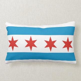 Kissen Chicago-Stadtflaggen-Vereinigter Staaten