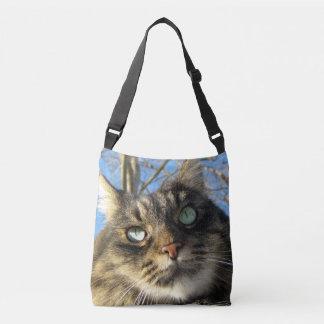 Kitty-Katzen-Gewohnheit ganz vorbei - drucken Sie Tragetaschen Mit Langen Trägern