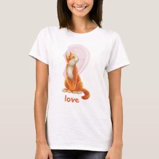 Kitty-Liebe - Mädchen T-Shirt