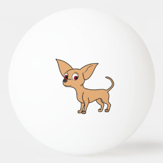 Kitz-Chihuahua Tischtennis Ball
