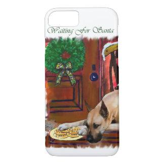 Kitz-Dogge-Weihnachten iPhone 8/7 Hülle