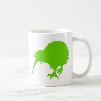 Kiwi-grüner Vogel Tasse