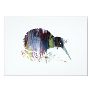Kiwi-Vogel-Kunst Karte