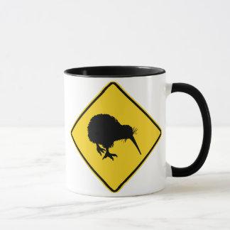 Kiwi-Warnung Tasse