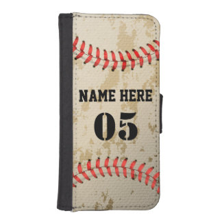 Klarer cooler Vintager Baseball Geldbeutel Hülle Für Das iPhone SE/5/5s