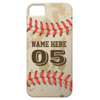 Klarer cooler Vintager Baseball iPhone 5 Etuis