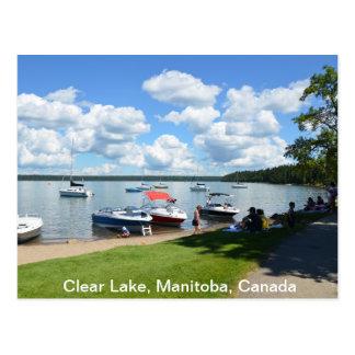 Klarer See, Nationalpark, Manitoba, Kanada Postkarte