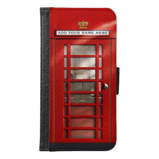 Klassische britische rote Telefonzelle