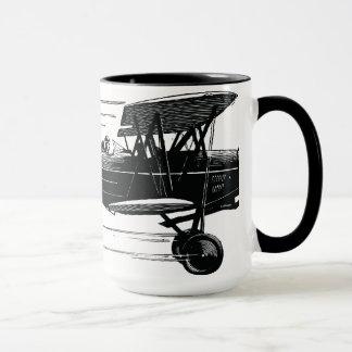 Klassische Doppeldecker-Tasse Tasse