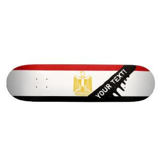 Klassische Flagge von Ägypten 18,7 Cm Mini Skateboard Deck
