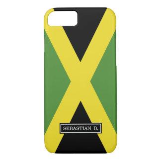 Klassische Flagge von Jamaika iPhone 8/7 Hülle