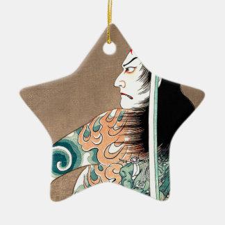 Klassische japanische legendäre keramik ornament