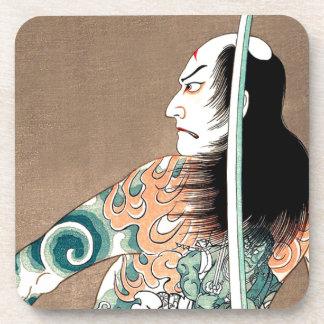 Klassische japanische legendäre untersetzer