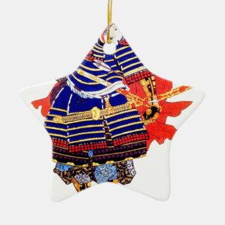 Klassische japanische Samurai-Kunst Japan Keramik Ornament