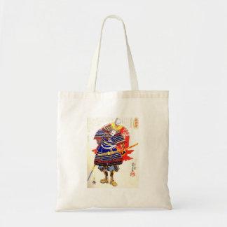 Klassische japanische Samurai-Kunst Japan Tragetasche